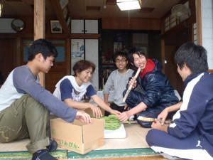 白保の暮らし体験 稼業体験(野菜農家)