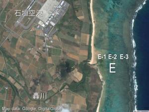調査地点 E